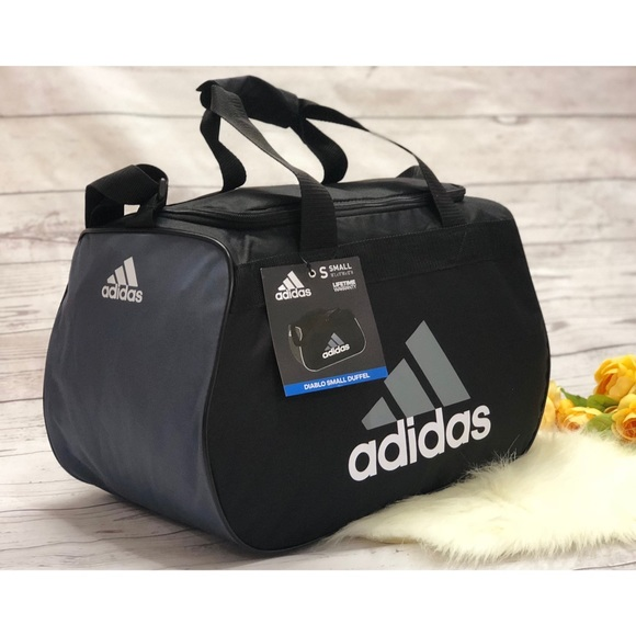 53589e1a4b6d Adidas Diablo small duffel gym bag sport bag